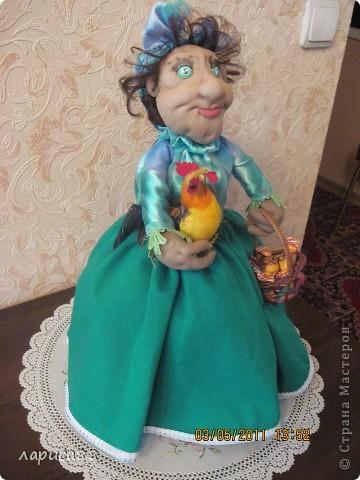 Дуня - кукла на чайник. фото 4