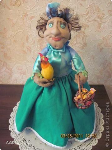 Дуня - кукла на чайник. фото 1