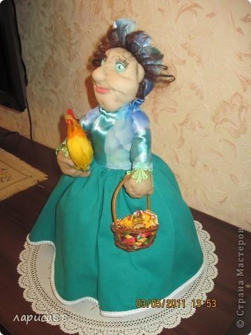 Дуня - кукла на чайник. фото 5
