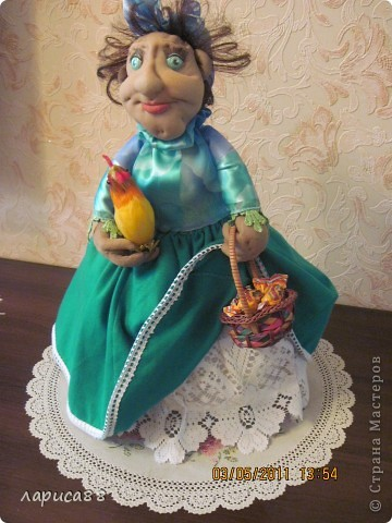 Дуня - кукла на чайник. фото 6