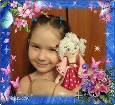 Знакомтесь это моя первая кукла для дочки зовут ее Машуля. Увидя ангелочка Машеньку от Ируси http://stranamasterov.ru/node/153000 очень захотелось сделать нечто похожее.  И вот наконец-то родилось это чудо. Имя придумывала дочка и так совпало, что назвала ее также.  И вот история Машули. Вот такая я родилась. фото 20