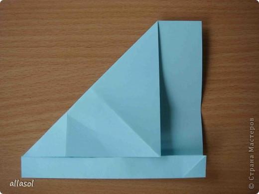 """Готовлюсь к занятиям кружка """"Оригами"""". Тема """"Орнаменты"""". Чтобы заинтересовать, стараюсь сделать образцы. Вот что у меня получилось сегодня. Это орнамент """"Иллюзия"""". Делала по книге Т.Сержантовой """"100 праздничных моделей оригами"""". Выглядит красиво, но уж очень много слоев. Ведь этот орнамент из 20 модулей. фото 17"""