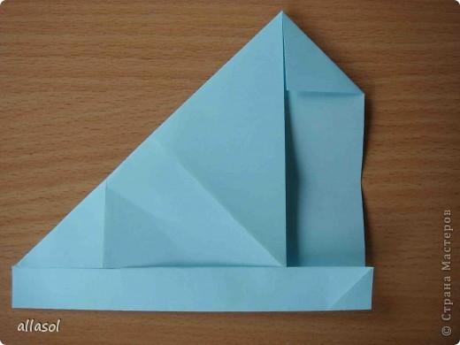 """Готовлюсь к занятиям кружка """"Оригами"""". Тема """"Орнаменты"""". Чтобы заинтересовать, стараюсь сделать образцы. Вот что у меня получилось сегодня. Это орнамент """"Иллюзия"""". Делала по книге Т.Сержантовой """"100 праздничных моделей оригами"""". Выглядит красиво, но уж очень много слоев. Ведь этот орнамент из 20 модулей. фото 18"""
