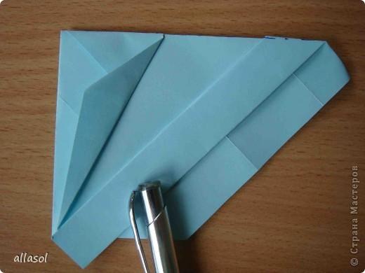"""Готовлюсь к занятиям кружка """"Оригами"""". Тема """"Орнаменты"""". Чтобы заинтересовать, стараюсь сделать образцы. Вот что у меня получилось сегодня. Это орнамент """"Иллюзия"""". Делала по книге Т.Сержантовой """"100 праздничных моделей оригами"""". Выглядит красиво, но уж очень много слоев. Ведь этот орнамент из 20 модулей. фото 22"""