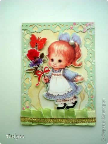"""Вот наконец-то и созрела моя новая серия """"Малыши"""", так что дорогие мои выбирайте, эти прелестные  малыши для вас!!!! Вот кому я должна: Юлечке (Yulia L), Оле (Олисандра), Марине (МАРСАМ), Маше(masha), Анечке (Анчи), Елене (Gestija) фото 9"""