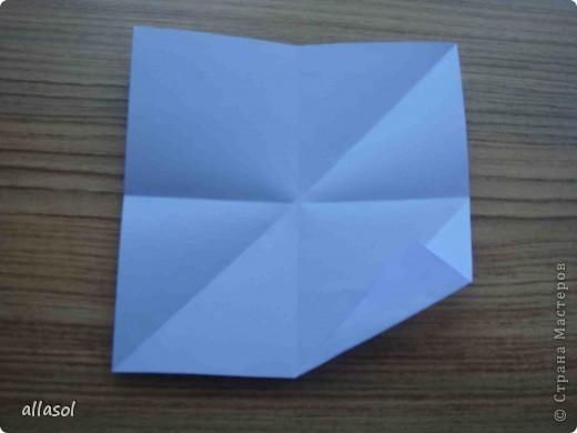 """Готовлюсь к занятиям кружка """"Оригами"""". Тема """"Орнаменты"""". Чтобы заинтересовать, стараюсь сделать образцы. Вот что у меня получилось сегодня. Это орнамент """"Иллюзия"""". Делала по книге Т.Сержантовой """"100 праздничных моделей оригами"""". Выглядит красиво, но уж очень много слоев. Ведь этот орнамент из 20 модулей. фото 30"""