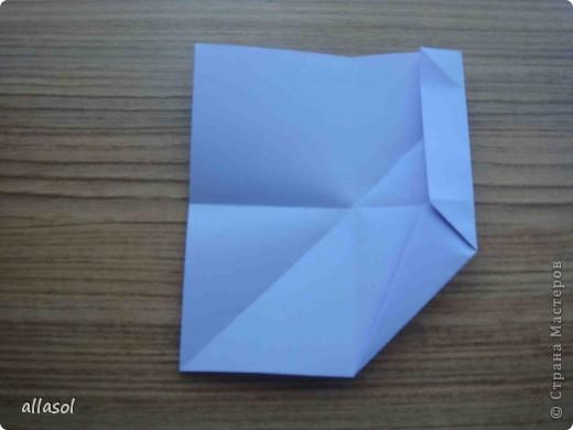 """Готовлюсь к занятиям кружка """"Оригами"""". Тема """"Орнаменты"""". Чтобы заинтересовать, стараюсь сделать образцы. Вот что у меня получилось сегодня. Это орнамент """"Иллюзия"""". Делала по книге Т.Сержантовой """"100 праздничных моделей оригами"""". Выглядит красиво, но уж очень много слоев. Ведь этот орнамент из 20 модулей. фото 32"""
