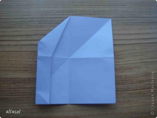 """Готовлюсь к занятиям кружка """"Оригами"""". Тема """"Орнаменты"""". Чтобы заинтересовать, стараюсь сделать образцы. Вот что у меня получилось сегодня. Это орнамент """"Иллюзия"""". Делала по книге Т.Сержантовой """"100 праздничных моделей оригами"""". Выглядит красиво, но уж очень много слоев. Ведь этот орнамент из 20 модулей. фото 33"""