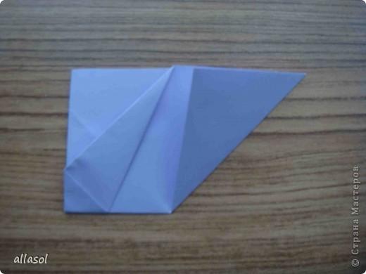 """Готовлюсь к занятиям кружка """"Оригами"""". Тема """"Орнаменты"""". Чтобы заинтересовать, стараюсь сделать образцы. Вот что у меня получилось сегодня. Это орнамент """"Иллюзия"""". Делала по книге Т.Сержантовой """"100 праздничных моделей оригами"""". Выглядит красиво, но уж очень много слоев. Ведь этот орнамент из 20 модулей. фото 35"""