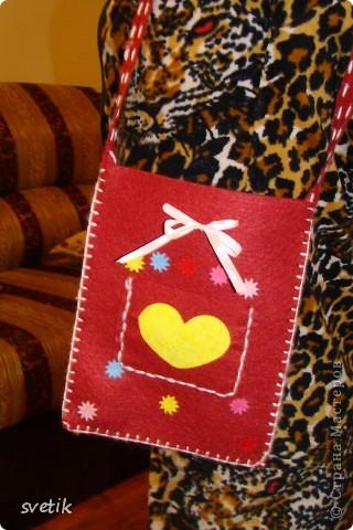 Один мальчик подарил Ангелинке на 8 марта этот набор. В оригинале  это- кошелек, но мы сделали сумочку фото 2