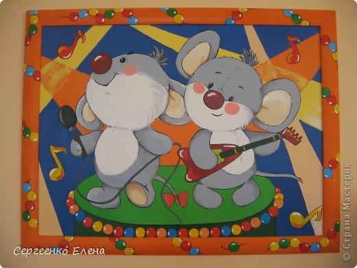 Эти смешные картины я нарисовала для украшения интерьеров  групповых комнат и спален детей в нашем детском саду. фото 4