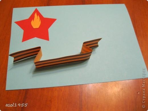 Такие открытки сделали ребята 4 классов вГПД школы№518 г. С-Петербурга в подарок ветеранам ВОВ ,которые придут в гости. фото 7