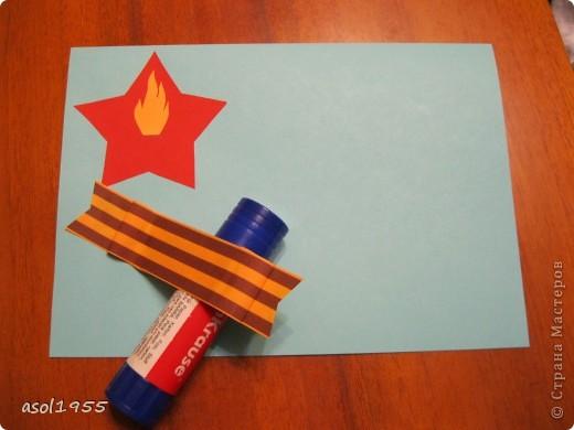 Такие открытки сделали ребята 4 классов вГПД школы№518 г. С-Петербурга в подарок ветеранам ВОВ ,которые придут в гости. фото 8