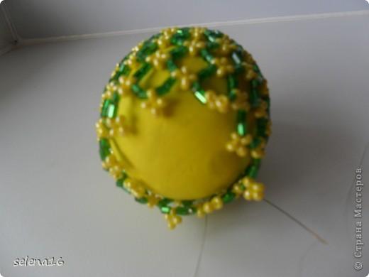 МК по плетению сетки для пасхальных яичек  фото 14