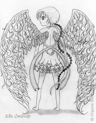 Рисунки аниме фото 2
