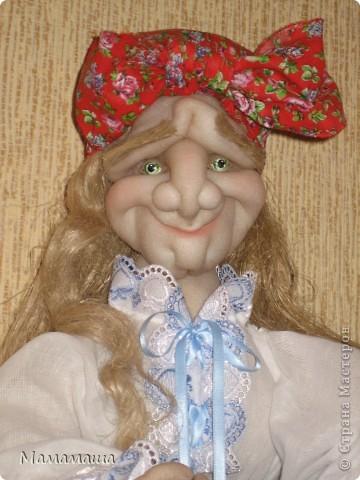 Пошилась очередная бабушка Яга в подарок. Поедет в город невест Иваново - глядишь, и замуж выйдет! фото 1