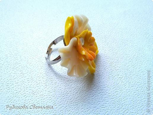 Кольцо Орхидея фото 1