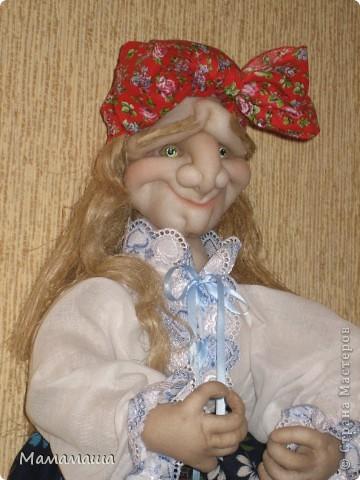 Пошилась очередная бабушка Яга в подарок. Поедет в город невест Иваново - глядишь, и замуж выйдет! фото 3