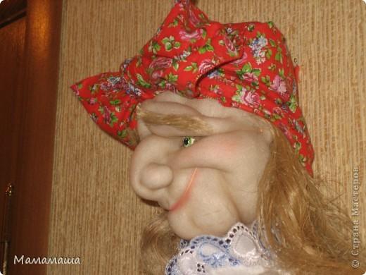 Пошилась очередная бабушка Яга в подарок. Поедет в город невест Иваново - глядишь, и замуж выйдет! фото 5