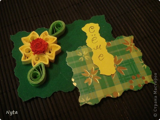 """Вот такую """"лимонную"""" досочку сделала в подарок коллеге на день рождения фото 4"""