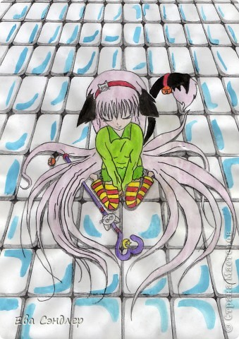 Рисунки аниме фото 7