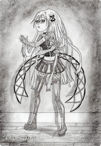 Рисунки аниме фото 3