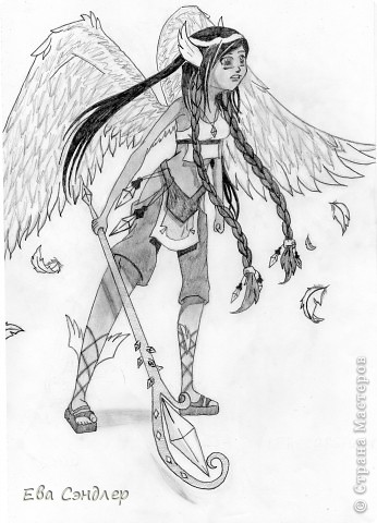 Рисунки аниме фото 1