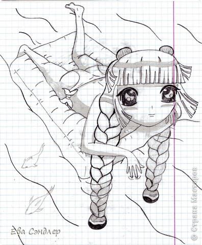 Рисунки аниме фото 5