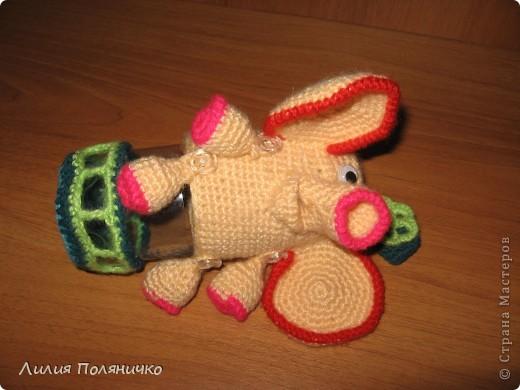 Представляю вашему вниманию развивающую игрушку слонишку-обжорку: фото 4