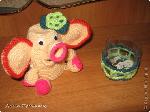 Представляю вашему вниманию развивающую игрушку слонишку-обжорку: фото 5