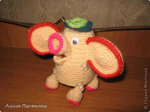 Представляю вашему вниманию развивающую игрушку слонишку-обжорку: фото 6