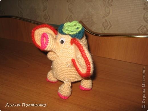Представляю вашему вниманию развивающую игрушку слонишку-обжорку: фото 7
