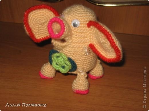 Представляю вашему вниманию развивающую игрушку слонишку-обжорку: фото 9