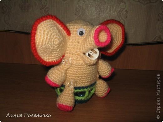 Представляю вашему вниманию развивающую игрушку слонишку-обжорку: фото 2