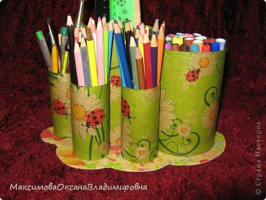 Стаканчики под карандаши и фломастеры фото 4