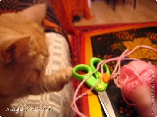 на уроке технологии научилась делать кисточку- весняшку. фото 3