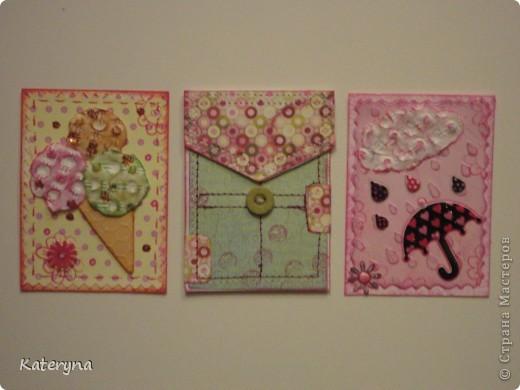 Здравствуйте,уважаемые гости моего блога. Сегодня я покажу вам замечательные карточки АТС,полученные от мастериц нашей Страны. фото 12