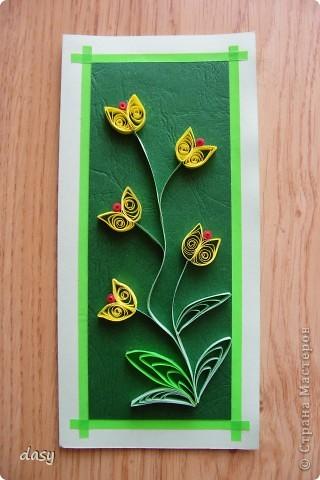 Я сделала когдато открытки и теперь хочу их показать вам. фото 9