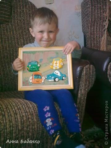 Эту картинку я сделала для своего сына. Он обожает этот мультфильм. Она теперь висит над его кроваткой. Размер рамки 25*20. фото 3