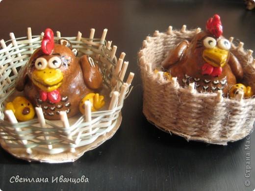 курочки с цыплятками. почти как у Светлячка http://stranamasterov.ru/node/180318 фото 1