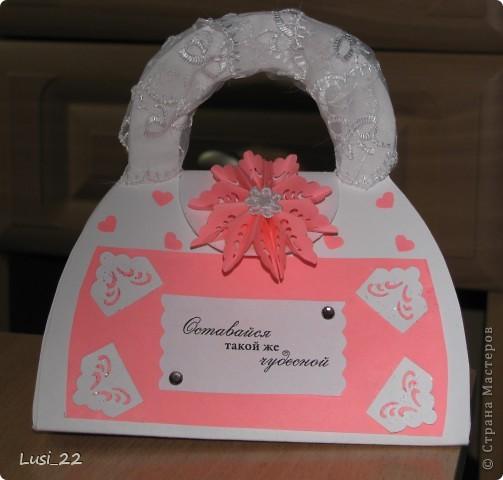 Вот такая придумалась сумочка. Шаблончик можно взять здесь http://stranamasterov.ru/node/83083 фото 1