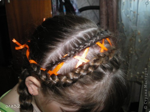 учусь плести косы фото 2