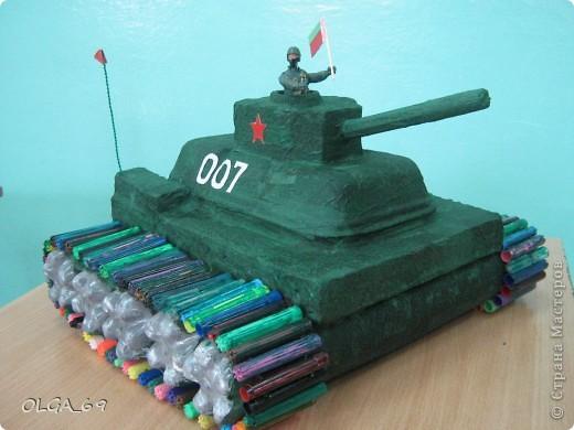 Как сделать танк из бутылки своими руками - Zdravie-info.ru
