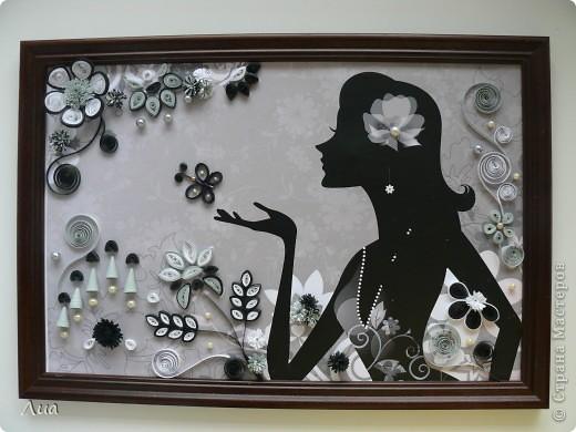 Вот такая- теперь в черно-белом цвете -девочка фото 1
