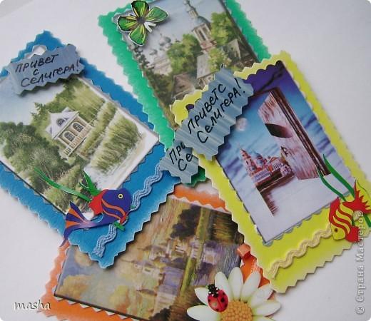 Это карточки не для обмена, А были отправлены всем как маленькие подарочки. фото 1