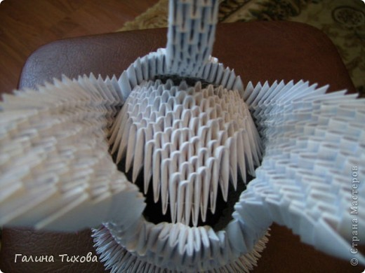 Свадебные лебеди. Мастер-класс. фото 16