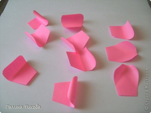 Свадебные лебеди (модульное оригами).  Мастер-класс.