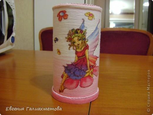 Карандашница для дочки.