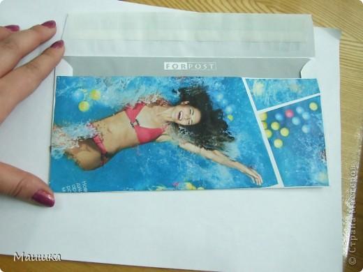 """В ход шли вырезки из журналов, также """"под ножницы""""  попали каталоги косметики :) фото 2"""