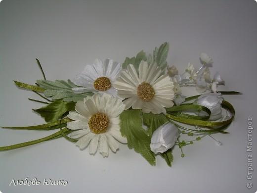 цветы из ткани фото 19